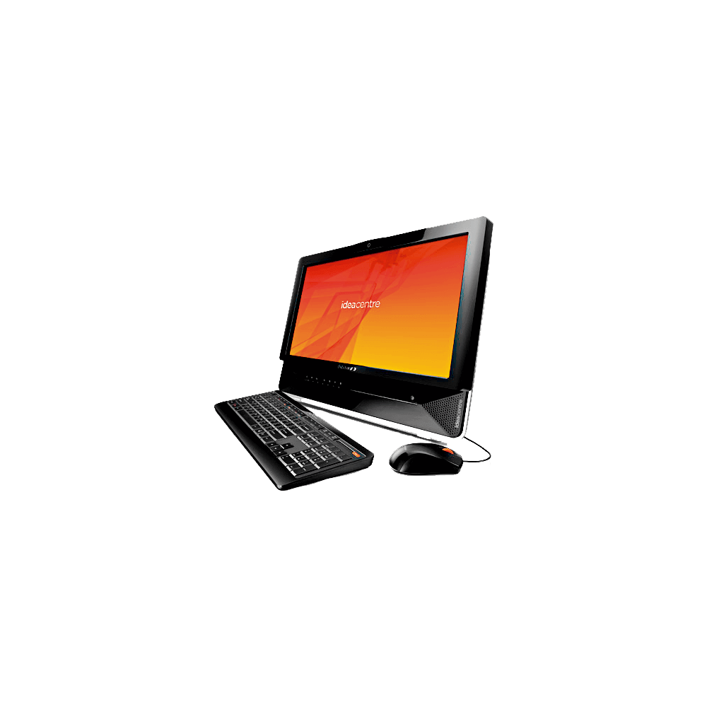 Computador Lenovo Idea Centre B300-BRP503 - HD 500GB - RAM 4GB - Intel Pentium E5400 - Windows 7 Home Basic