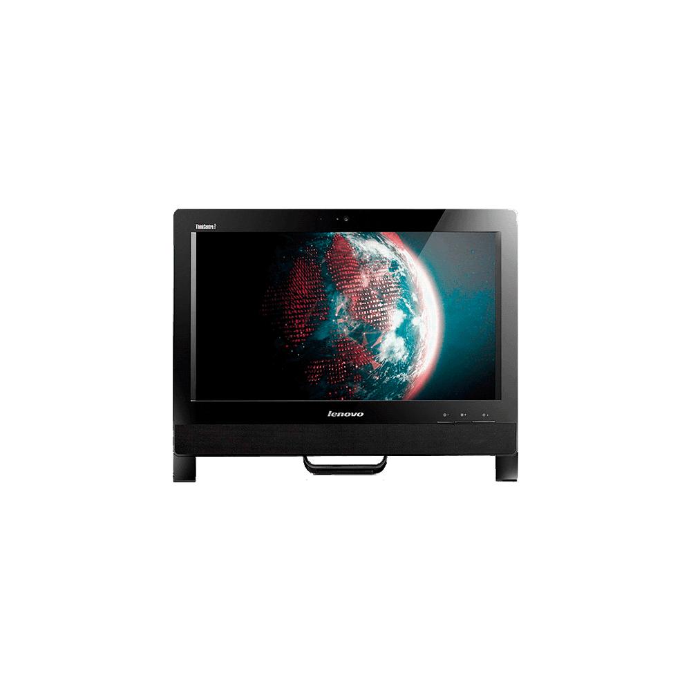 "Computador Lenovo All in One Desktop E72Z-3574N9P - Intel Core i5-3470 - RAM 4GB - 500GB - Tela 20"" - Preto - Windows 7 Pro"