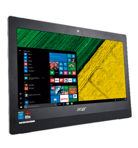 "Computador Acer All in One - Aspire AZ1-751-BR11 - Intel Core i5 - 1TB HD - 8GB RAM - Tela LCD 19.5"" - Preto - Windows 10"