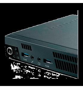 Computador Desktop Lenovo M92P Tiny 3234D6P - Intel Core i3-3220T - HD 500GB - RAM 4GB - Windows  7 Professional.