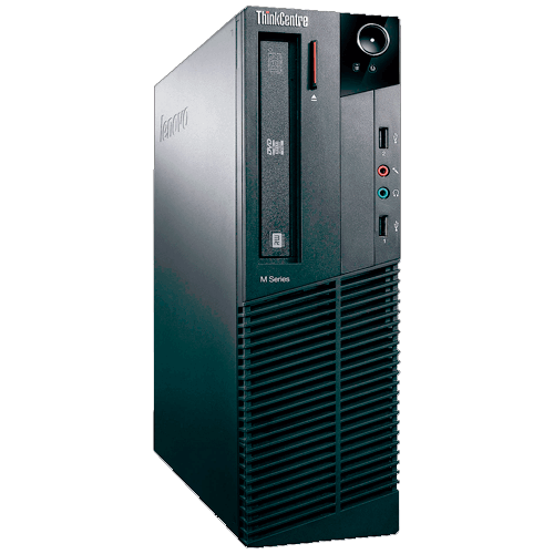 Computador Desktop Lenovo M81-5049EP - Intel Core i3-2100 - 500GB HD - 2GB RAM - Windows 7 Pro