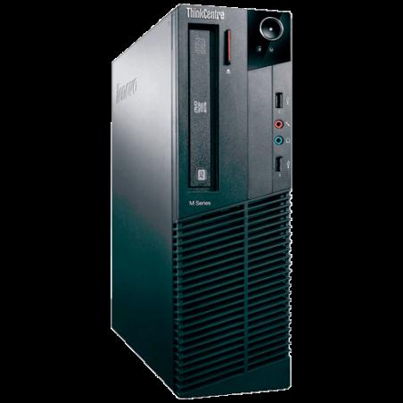 Computador Desktop Lenovo M81-5049EP - Intel Core i3-2100 - 500GB HD - 2GB RAM - Windows 7 Pro