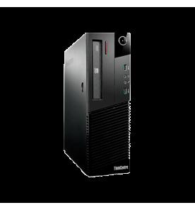 Computador Desktop ThinkCentre Lenovo potente máquina com o processador de alto desempenho Intel Core i5 4ª geração, com memória RAM 4GB e HD de 500GB. Gabinete moderno e super resistet com portas...