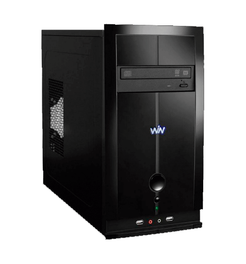 Computador Desktop CCE T232S - Intel Atom Dual Core D2500 - RAM 2GB - HD 320GB - Gravador de DVD - Windows 7 Starter