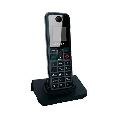 """Telefone Sem Fio Alcatel MF100P - Viva-Voz - Dysplay STN 1.32"""" - Secretária Eletrônica"""
