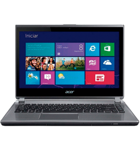 "Ultrabook Acer M5-481PT-6851 - Intel Core i5-3337UB - RAM 6GB - HD 500GB - LED 14"" - Windows 8"