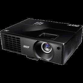 Projetor Acer X1110 Preto - 3D - 2500 ANSI LUMENS - 800×600 - Contraste 4500:1