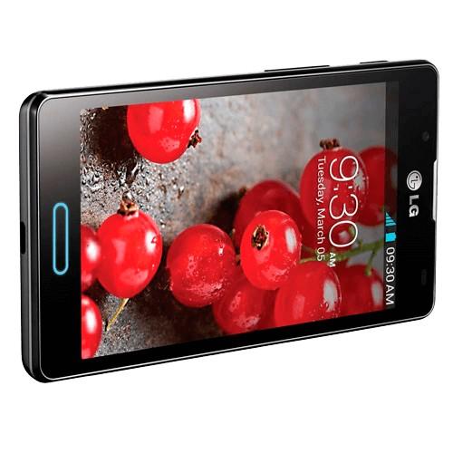 "Smartphone LG Optimus L7 II P714 - Preto - 4GB - 8MP - 3G - Wi-Fi - Tela 4.3"" - Android 4.1"