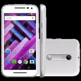 """Smartphone Motorola Moto G XT1543 - 3° Geração - Branco - 16GB - Dual-Chip - 13MP - 4G - Tela 5"""" - Android 5.1"""