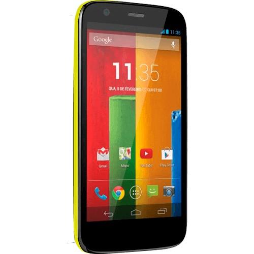 "Smartphone Motorola Moto G XT1033 Verde - 16GB - 3G - 5MP - Tela 4.5"" - Android 4.3"