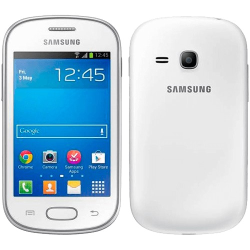 "Smartphone Samsung Galaxy Fame Lite S6790 - 3MP - 3.5"" - 4GB - 3G - Android 4.1 - Branco"