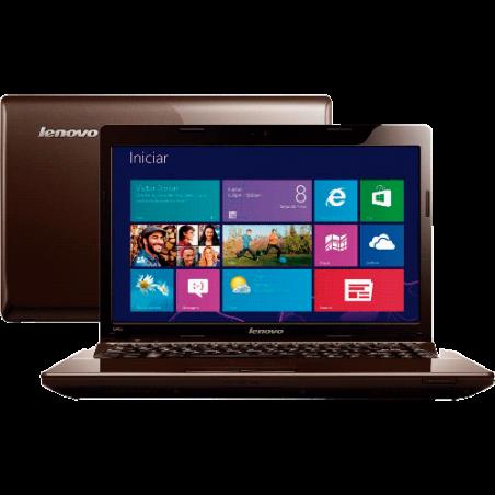 "Notebook Lenovo G485-80C30001BR - AMD Dual Core C70 - HD 500GB - RAM 4GB - LED 14"" - Windows 8"