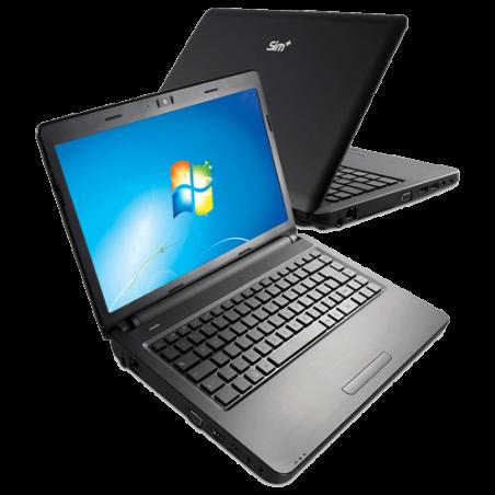 "Notebook Positivo Sim+2000 AMD C-60 - RAM 2GB - HD 320GB - Tela 15.6"" - Windows 7"