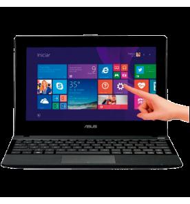 "Notebook Asus Rosa R103BA-BING-DF091B - RAM 2GB - HD 320GB - AMD A4-1200 - Touchscreen - LED 10.1"" - Windows 8.1"