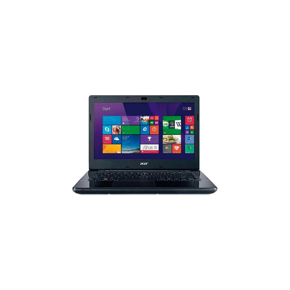 "Notebook Acer E5-471-30AQ - Intel Core i3-4005U - RAM 4GB - HD 500GB - Tela LED 14"" - Windows 8.1 - Preto"