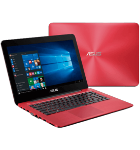 "Notebook Asus Z450LA-WX010T - Intel Core i3-4005U - RAM 4GB - HD 1TB - Tela LED 14"" - Windows 10 - Vermelho."