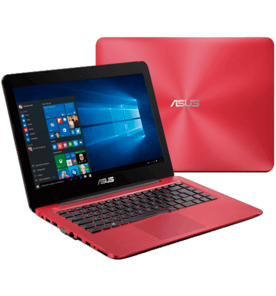 "Notebook Asus Z450LA-WX010T - Intel Core i3-4005U - RAM 4GB - HD 1TB - Tela LED 14"" - Windows 10 - Vermelho."