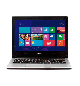 "Notebook CCE Ultra Thin HT345TV com TV - Intel Core i3- HD 500GB - RAM 4GB - LED 14"" Touchscreen - Windows 8"