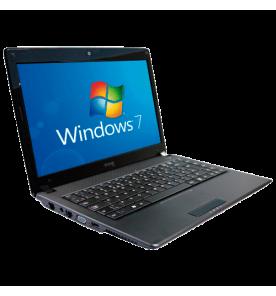 "Notebook CCE WIN BPS - Intel Pentium B950 - RAM 2GB - HD 500GB - LED 14"" - Windows 7 Starter"