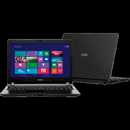 "Notebook  CCE W125 - Intel Pentium B950 - RAM 2GB - HD 500GB - LED 14"" - Windows 8"