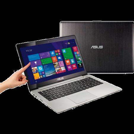 """Notebook Ultrafino Asus S400CA-BRA-CA215H - RAM 4GB - HD 500GB - Intel Core i5-3317U - LED 14"""" - Touchscreen - Windows 8"""
