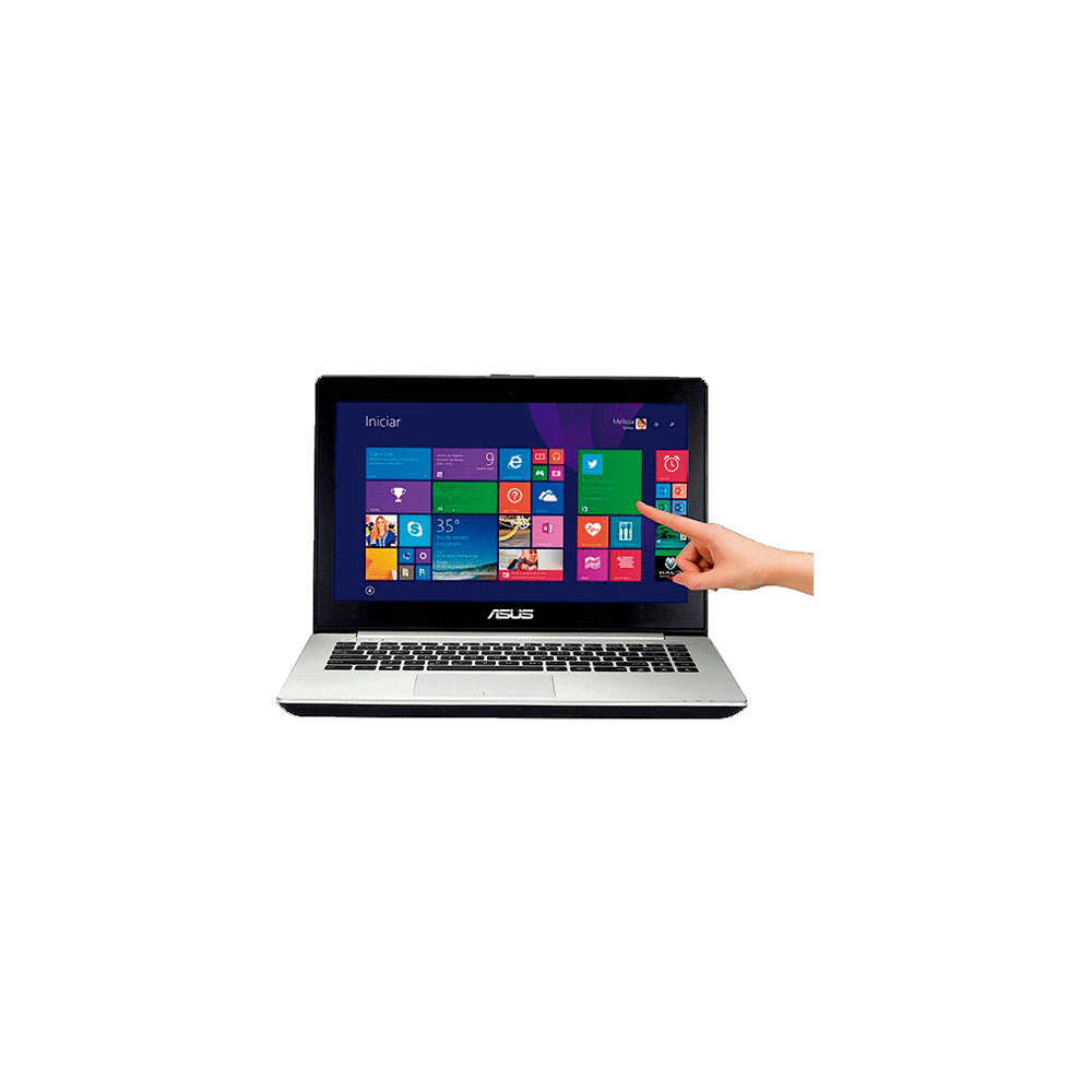 "Notebook Asus Vivobook S451LA-CA046H - RAM 8GB - Intel Core i5-4200U - HD 500GB - LED 14"" Touchscreen - Windows 8"
