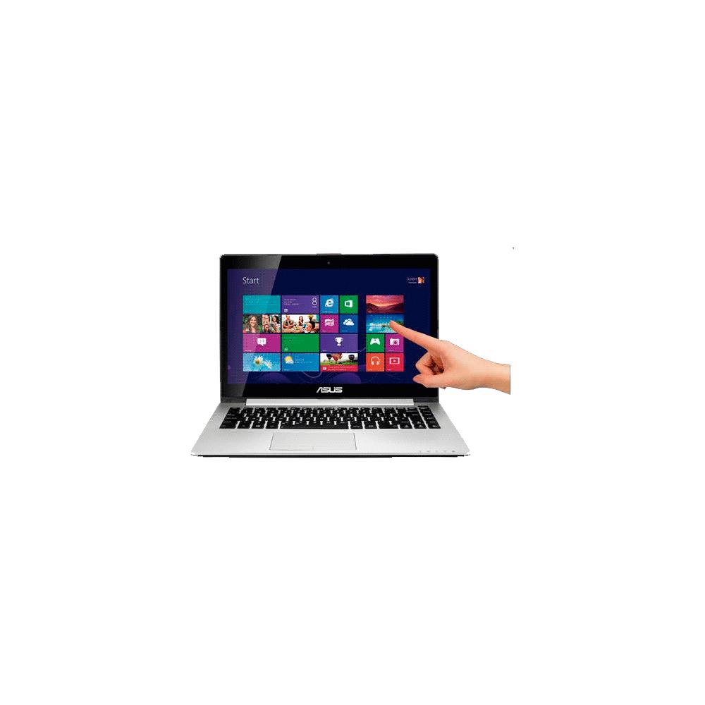 "Notebook Asus Vivobook S400CA-CA078H - Intel Core i3-3217U - RAM 4GB - HD 500GB - LED 14"" Touchscreen - Windows 8"