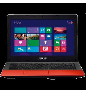 "Notebook Asus K45A-VX142H - Intel Core i5-3210M - Vermelho - RAM 6GB - HD 500GB - LED 14"" - Windows 8"