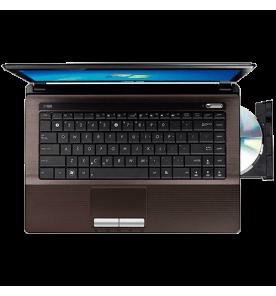 "Notebook Asus K43U-VX122R - AMD Fusion C-60 - RAM 4GB - HD 500GB - LED 14"" - Windows 7 Home Basic"