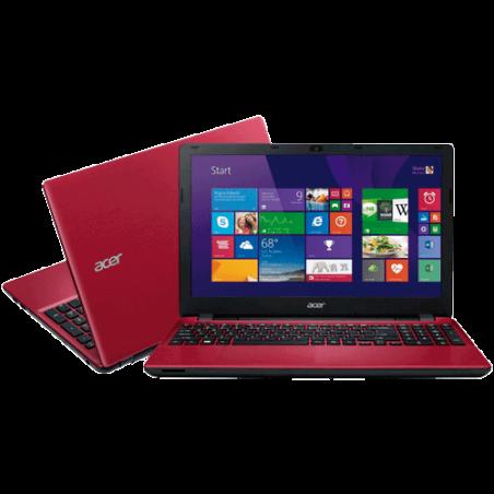 "Notebook Acer E5-571-50JA Vermelho - Intel Core i5-4210U - RAM 6GB - HD 1TB - Tela LED 15.6"" - Windows 8.1"