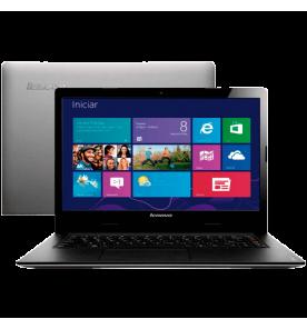 "Notebook Lenovo S400-59346385 - Intel Core i3-2365M - RAM 4GB - HD 500GB - LED 14"" - Windows 8"