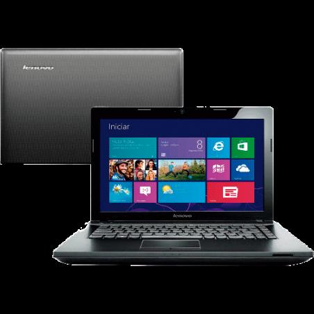 "Notebook Lenovo G405-80A90000BR Preto - AMD E1-2100 - HD 500GB - RAM 4GB - LED 14"" - Windows 8.1"
