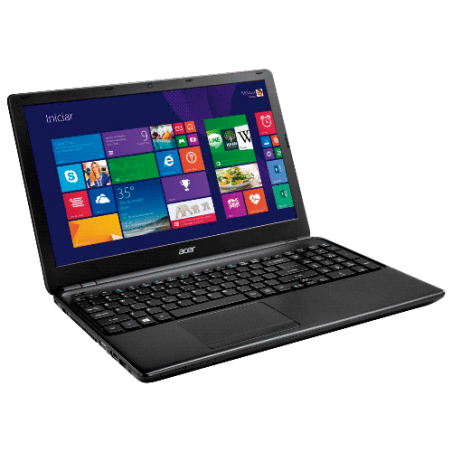 "Notebook Acer E1-510-2455 - Intel Celeron N2820 - RAM 4GB - HD 500GB - LED 15.6"" - Windows 8.1"