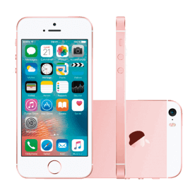 iPhone SE 64GB Ouro Rosa