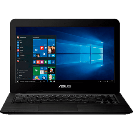"Notebook ASUS Z450LA-WX009T - Intel Core i3-4005U - RAM 4GB - HD 1TB - Tela LED 14"" - Windows 10 - Preto"