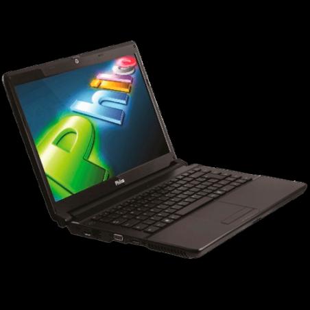 """Notebook Philco 114F-P744WB - AMD Brazos Dual Core- RAM 4GB - HD 500GB - Tela LED 14"""" - Windows 7 Home Basic - Preto"""