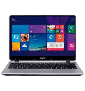 "Notebook Acer Laptop V3-111P-43BC - Intel Pentium N3530 - RAM 4GB - HD 500GB - Tela LED 11.6"" Touchscreen - Windows 8.1 - Cinza"
