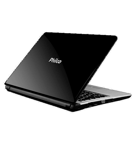 """Notebook Philco 14G-P144WB - Intel Atom Dual Core - RAM 4GB - HD 500GB - Tela LED 14"""" - Windows 7 Home Basic"""