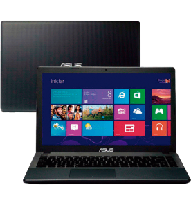"Notebook Asus X451CA-BRAL-VX050H - Intel Celeron Dual Core - RAM 2GB - HD 320GB - LED 14"" - Windows 8"