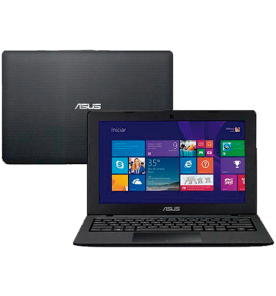 "Notebook Asus X200MA-CT205H - Intel Celeron Dual Core N2830 - HD 500GB - RAM 2GB - LED 11.6"" Touchscreen - Windows 8.1 - Preto"