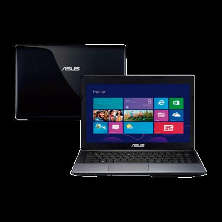 "Notebook Asus X45U-VX051H - AMD C-60 - RAM 2GB - HD 320GB - LED 14"" - Windows 8"