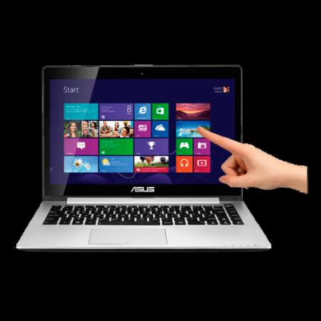 "Notebook Ultrafino Asus S400CA-BRA-CA206H - RAM 4GB - HD 500GB - Intel Core i3-2375M - Touchscreen - LED 14"" - Windows 8."