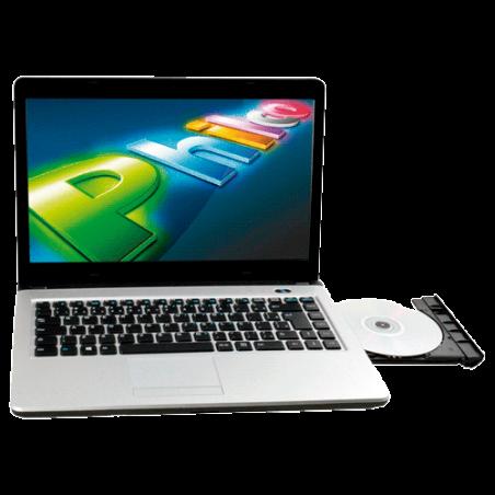 "Notebook Philco 14L-P1044W8NC4CU43 - Intel Celeron 847 - RAM 4GB - HD 500GB - LED 14"" - Windows 8"