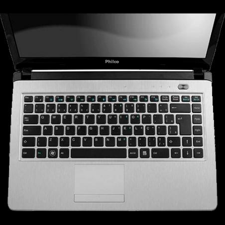 "Notebook Philco 14I-L723LM - AMD Brazos Dual Core - HD 320GB - Tela 14"" - RAM 2GB - Linux - Lilás"