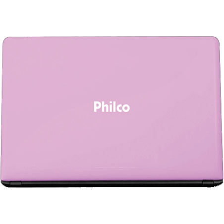 "Notebook Philco 14G-R123WS - Intel Atom - RAM 2GB - HD 320GB - Tela LED 14"" - Windows 7 Starter - Rosa"