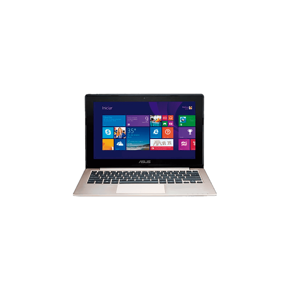 Notebook Asus Vivobook S200E-CT252H - Intel Core i3-2365M - RAM 2GB - HD 500GB - Tela LED de 11.6'' - Touchscreen - Windows 8