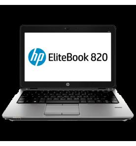 "Notebook HP EliteBook 820 - Intel Core i5-5300U - RAM 4GB - HD 500GB - LED 12.5"" - Windows 8"