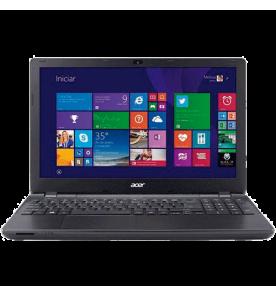 "Notebook Acer E5-571-52ZK - Intel Core i5-5200U - RAM 4GB - HD 500GB - LED 15.6"" - Windows 8.1 - Preto"