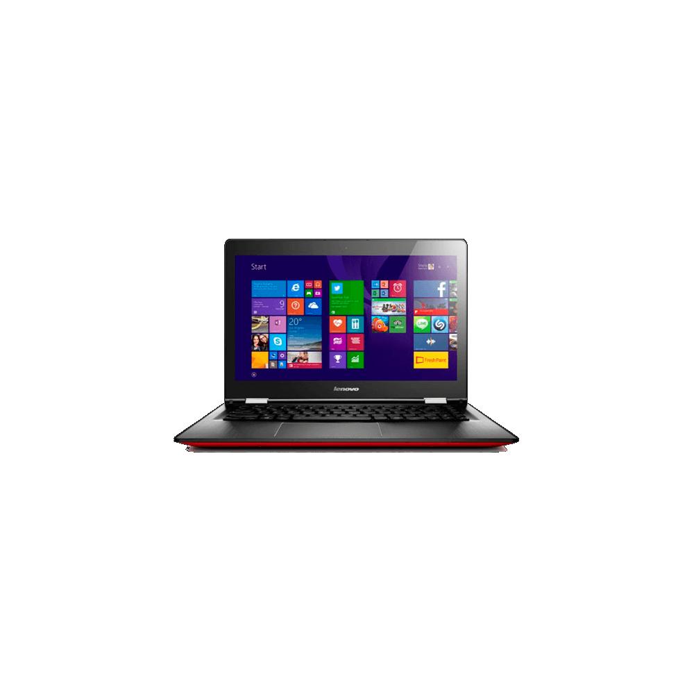 """Notebook Lenovo Yoga 2 em 1 500-80NE0005BR - Intel Core i5-5200U - RAM 4GB - HD 500GB - Tela 14"""" - Windows 10 - Vermelho"""