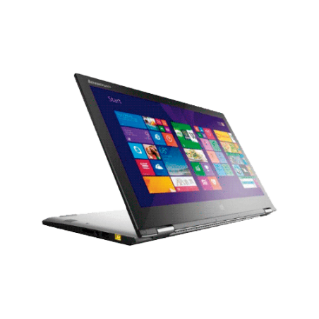 "Notebook Lenovo YOGA 2 13-80DM0004BR Prata - Intel Core i3-4010U - HD 500GB - RAM 4GB - Tela 13.3"" - Windows 8.1"